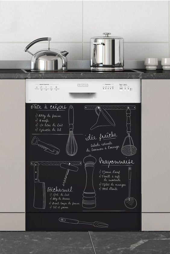 peinture ardoise 16 id es les plus cr atives. Black Bedroom Furniture Sets. Home Design Ideas