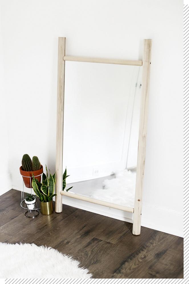 DIY Déco : le miroir en bois