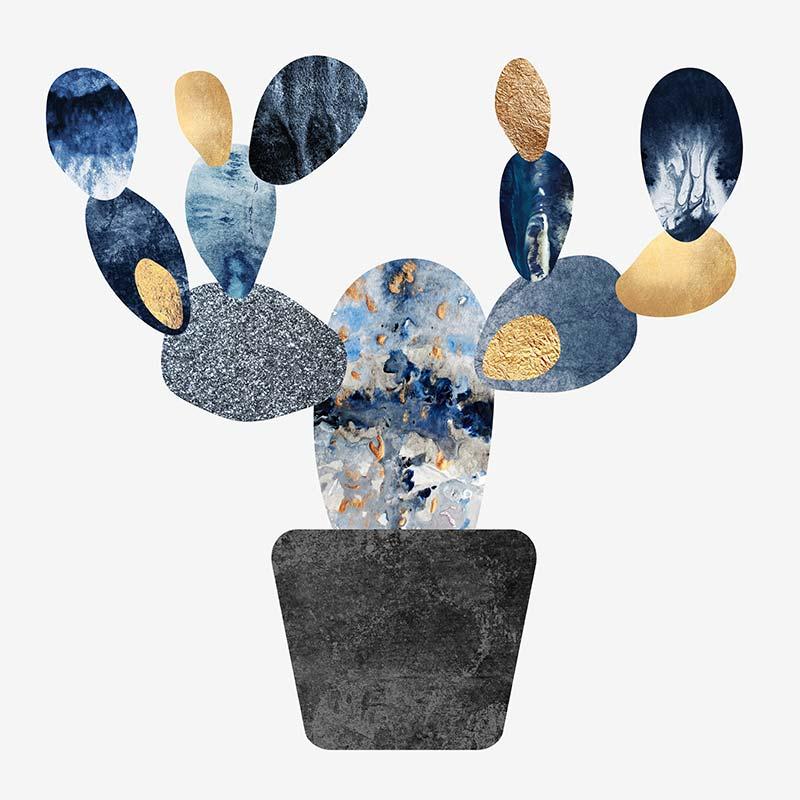 Tableau Cactus de l'artiste Elisabeth Fredriksson