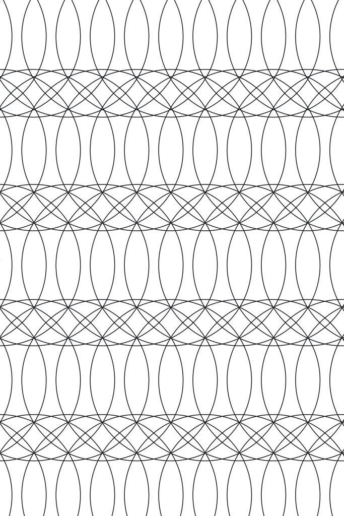 Tableau Design Blanc de l'artiste Xoxo Arte