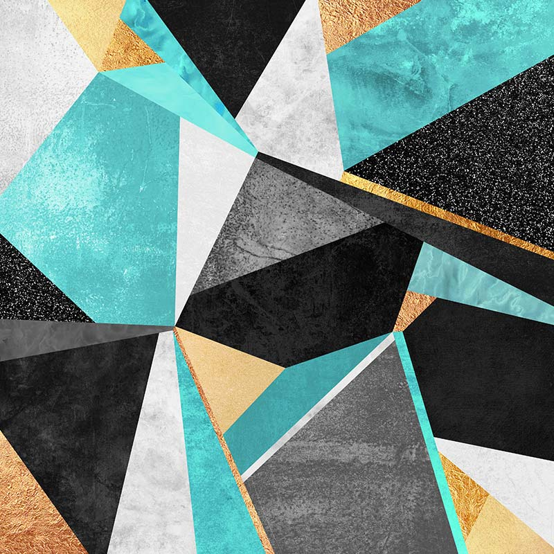 Tableau Triangle Scandinave de l'artiste Elisabeth Fredriksson