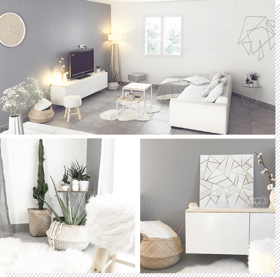 Salon scandinave : Top 10 Instagram - Décoration créative