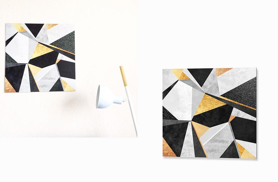 Tableau Géométrique Scandinave
