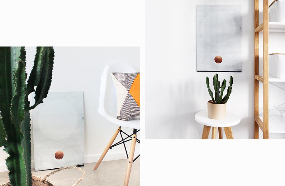 Tableau Moderne Blanc
