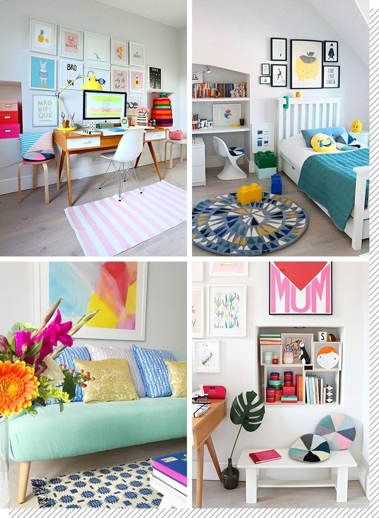 d co color e notre top 5 instagram d coration cr ative. Black Bedroom Furniture Sets. Home Design Ideas