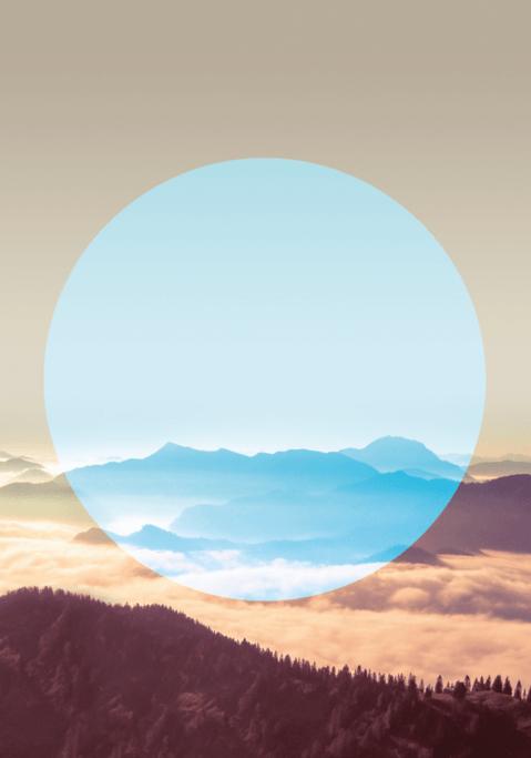 Tableau Alpes de l'artiste Henry Rivers