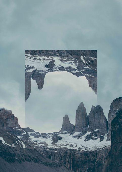 Tableau Patagonie par l'artiste Joe Mania