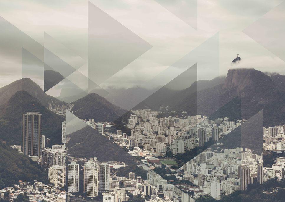 Tableau Photo Rio de l'artiste Joe Mania