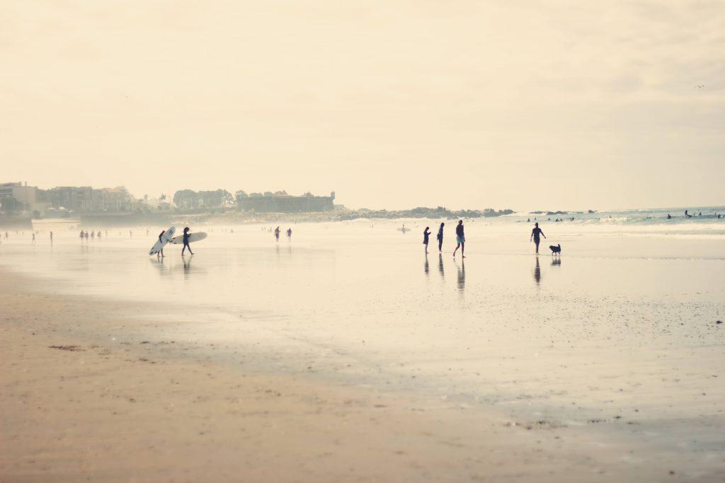 Tableau Surf de l'artiste Ingrid Beddoes