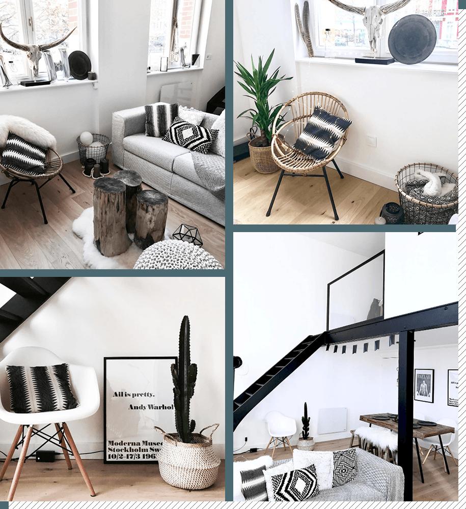 Idee Deco Sejour Scandinave salon scandinave : top 10 instagram - décoration créative