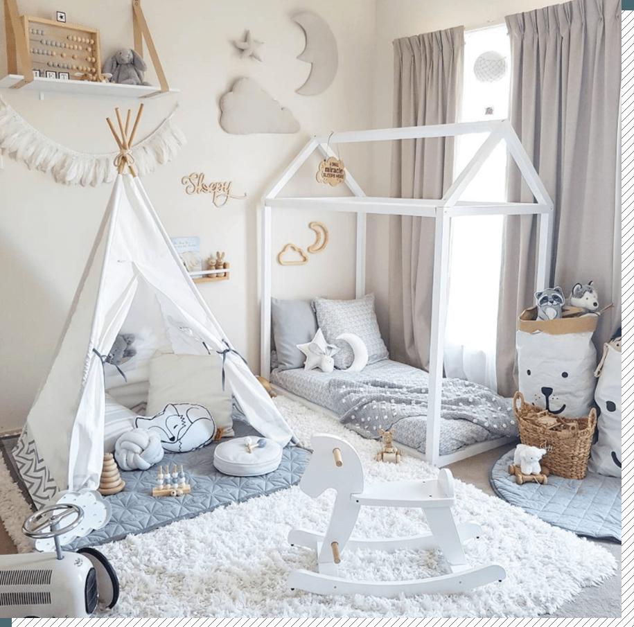 Chambre Lit Cabane Fille chambre enfant : le lit cabane - décoration créative